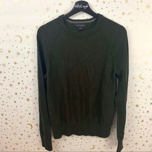 Banana Republic | Hunter Green Merino Wool Sweater